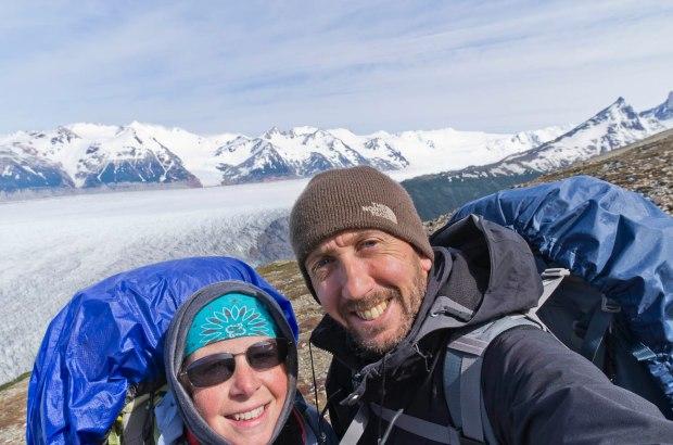 at the top of John Garner pass