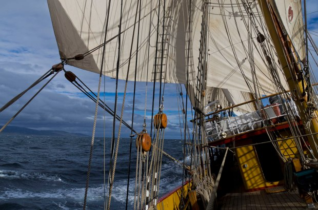 sailing the Drake Passage