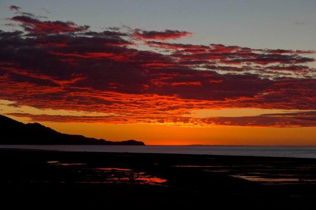 Chaiten sunset