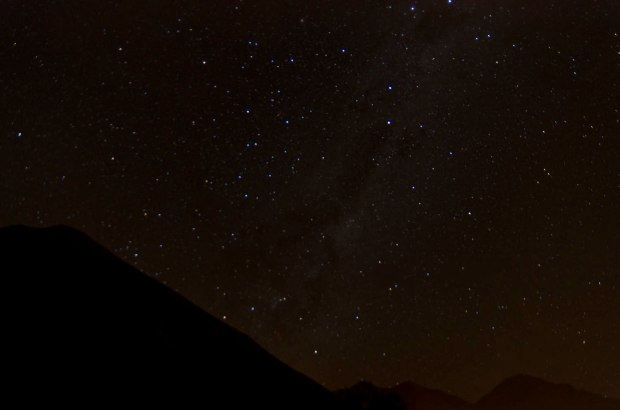 starry sky at Mamaullca
