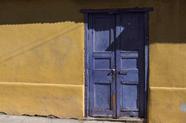 Colorful doors & homes are found all over town