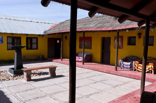 I highly recommend a stay at the Hostel Pachamama