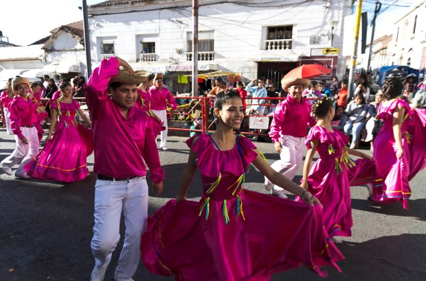 this parade is just one display of the culture found everywhere in Sucre