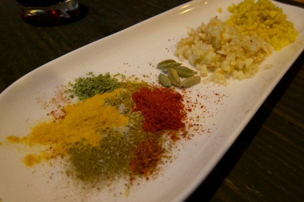 we turned this array of spices