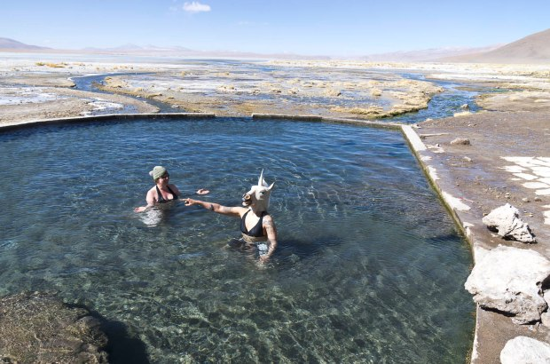 hot springs with the unicorn-a truly magical experience!