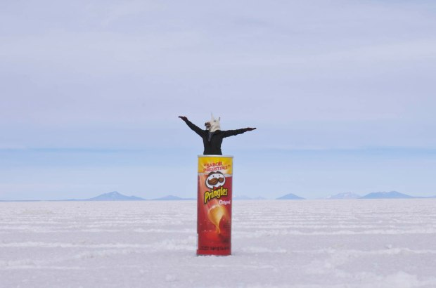 the Uyuni standard photo-we had to!