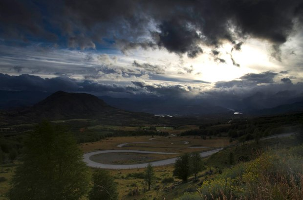 the small paved section-Carretera Austral