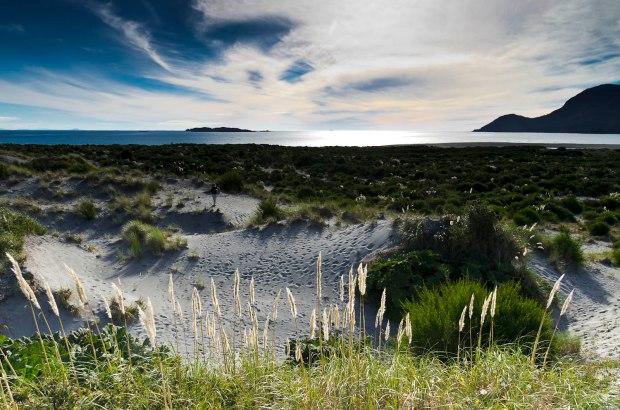 reaching the Pacific coast on Raul Marin Balmaceda-Carretera Austral