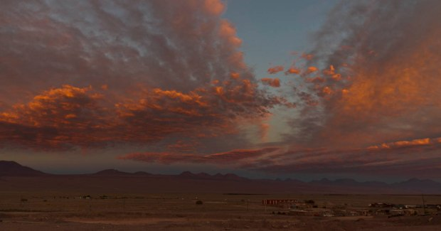 sunset outside of San Pedro de Atacama