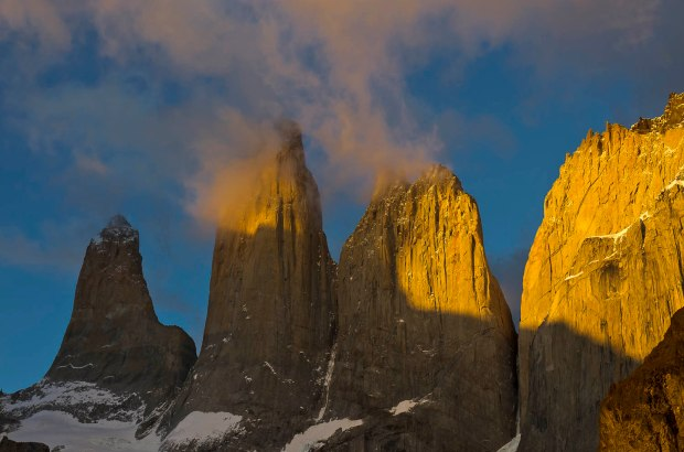 sunrise on the Torres
