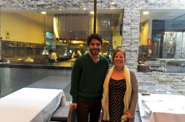 meeting chef Virgilio Martinez of Central-I literally had butterflies!