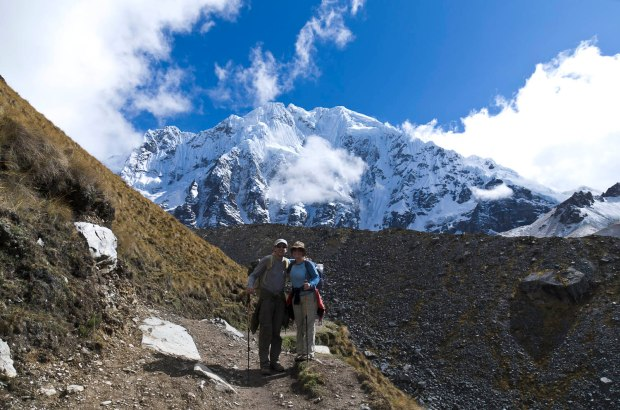 heading to Salkantay pass