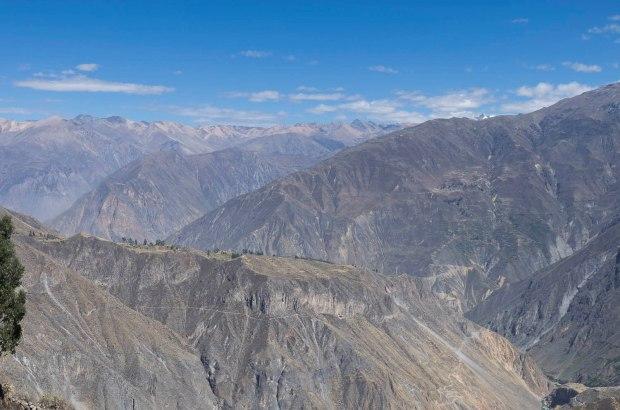 Colca Canyon-twice deeper than the Grand Canyon