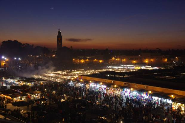 Marrakech, Morocco-what a place to ring in the new year!