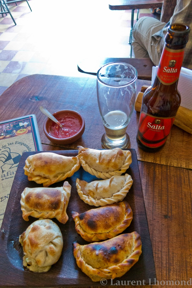 our favorite empanadas in Argentina were in Cafayate