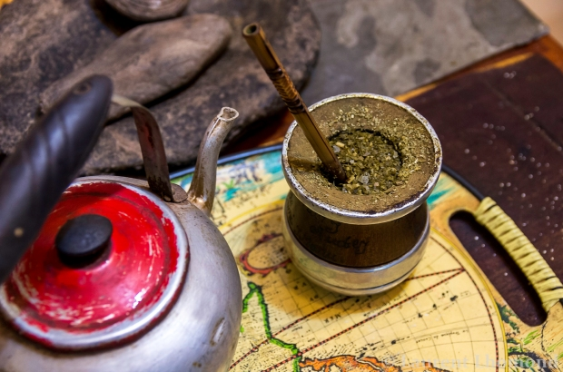 mate is an institution in Argentine